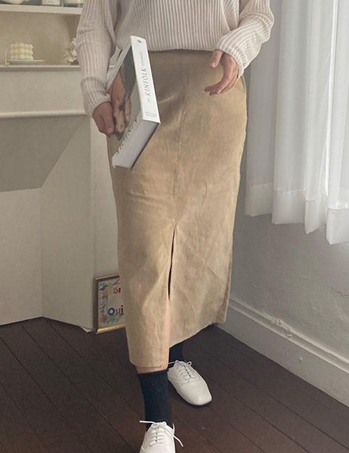 About Corduroy Skirt(55~66)