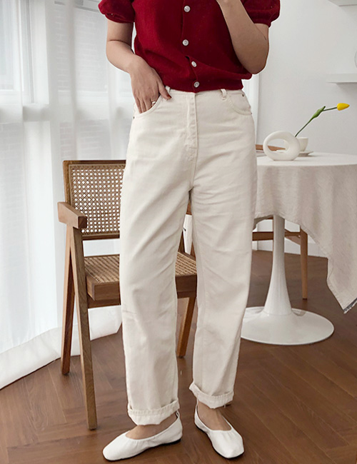 Natural Cream Pants